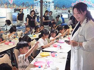 東京・品川区で8月に行われた塩の体験イベント