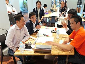 町工場とベトナムベンチャーの相談会