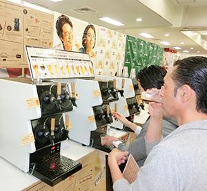 キリンビールの「タップ・マルシェ」はカフェや映画館など4000店に拡大