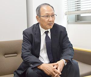 橋本則之 専務取締役 営業本部本部長