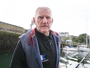 アイマス漁師歴60年以上を誇るマーティン・スパウス氏