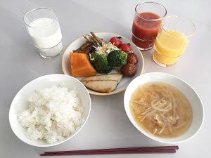 北海道士別市が合宿時に提供した食事