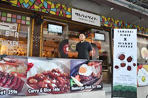 海外日本食 成功の分水嶺(61)サムライダイナー 昭和の良き日本をタイで