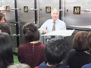 CASについて説明する大和田哲男社長