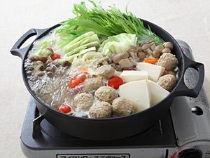 鶏だし生姜鍋