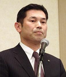 岡田賢二日本冷凍めん協会副会長(シマダヤ常務取締役)