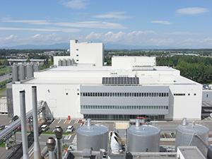 停電時に稼働させる自家発電設備を持つ十勝主管工場