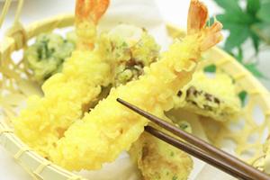 天ぷら粉を使うことで簡単・便利に仕上がる