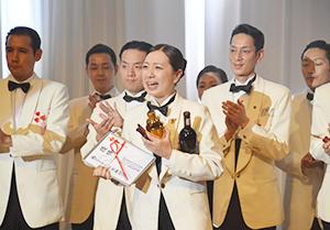 優勝した堤沙耶香選手