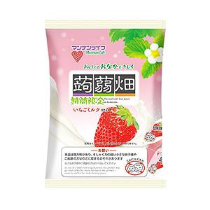 蒟蒻畑 いちごミルク」発売(マンナンライフ) - 日本食糧新聞電子版