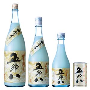 にごり酒「五郎八(ごろはち)」のラインアップ