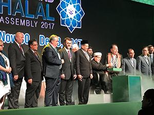 ハラール食品の普及を目的に行われたタイ・イスラム中央委員会によるイベント=提供写真