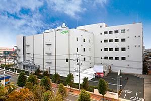 習志野工場内に増設された新棟