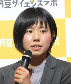 小林知世タカノフーズ納豆研究開発研究員