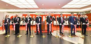 開会式には来賓が多数参列し盛大に行われた
