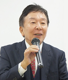 妹尾芳郎会長