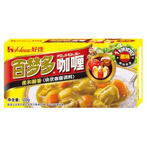 中国で主力の「百夢多カレー」