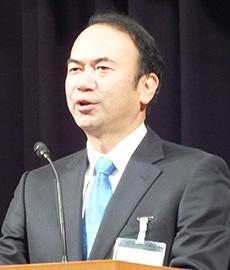 飯島幹雄理事長