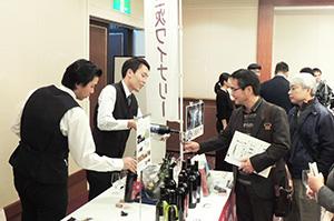"""参加者全員で""""日本ワイン""""の魅力を味わった"""