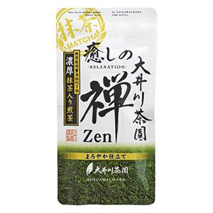 癒しの禅濃厚抹茶入り煎茶100g