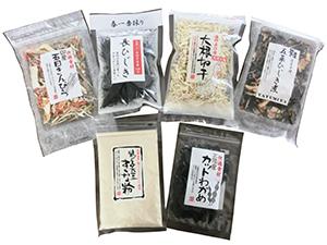 複数の素材を1袋にした惣菜材料セットは新商品を開発中