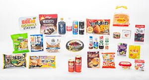 食品ヒット大賞、優秀ヒット賞、ロングセラー賞、ロングセラー平成貢献賞に輝いた商品の数々