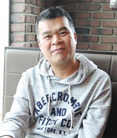 鄭玉和  Eddie Chang 社長(43歳)7業種11店舗のオーナー