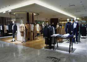 コンテンポラリーゾーンの伸びが顕著な伊勢丹新宿本店のキャリアゾーン