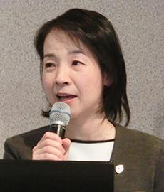「輸出認可工場が増加し対日輸出の拡大と安定供給につながる」と強調する鬼沢裕子アソシエイトディレクター