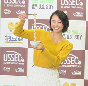 畠山愛理さんの美と健康は納豆のおかげ