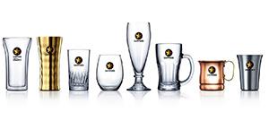 「42種から選べるビヤグラス」