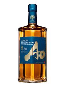世界で初めて世界5大産地のウイスキー原酒をブレンドした「碧Ao」