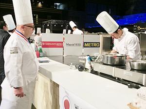 審査は味や見た目、国の独自性のほか、厨房がきれいなこと、食材ロスの有無も採点対象となる