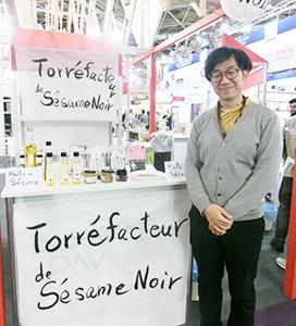 「日本的で新しいものを求めるシェフやパティシエが多く、可能性を感じた」と和田武大社長