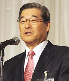 勝井勝丸会長