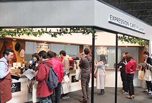 日本発のエスプレッソ「Largo」が主役の店舗パッケージ
