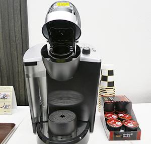 「カプセル」を使用した一杯抽出コーヒーシステム「キューリグ」