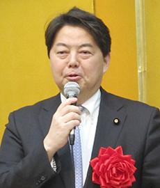 林芳正日本の豆腐文化を守る議員連盟会長