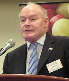ジェフ・スコット豪州ブドウ協会会長