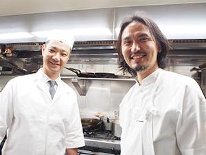 生江史伸氏(右)と高橋義弘氏