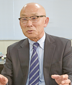 静鉄ストア 竹田昭男社長