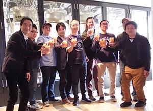 SVB東京にプロジェクト参加ブルワリーが集結