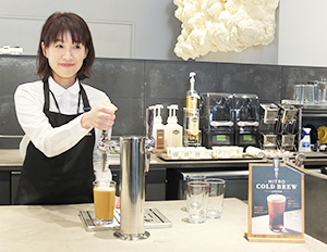 京都府内2店舗限定の「スターバックスナイトロコールドブリューコーヒー」も提供
