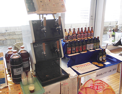 同社商品「金しゃち名古屋赤味噌ラガー」も取り扱う「Tap Marche」