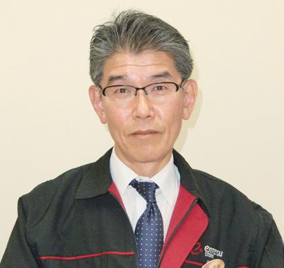 河合正志 取締役経営推進本部長