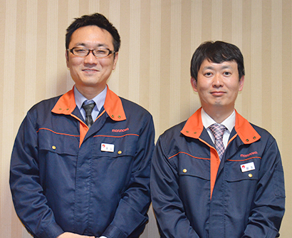 永山大樹氏(左)と秋友隆宏氏