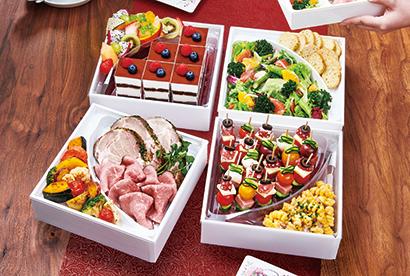 こだわりの惣菜を華やかに彩る「ワン折重R」