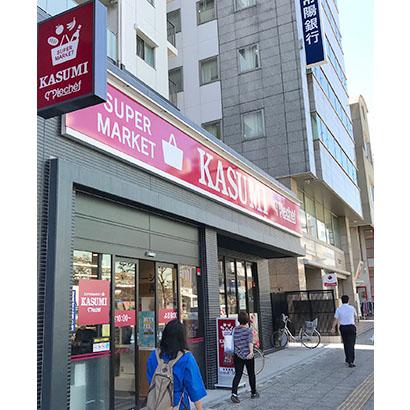 水戸駅から徒歩10分のカスミ南町店(水戸市)は小型店モデルの一つ