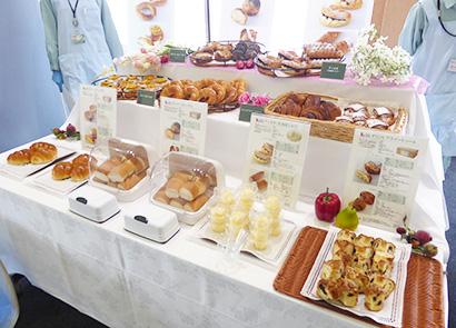 「おいしい」にプラスアルファの価値を付与、主に製菓製パン向けに提案する