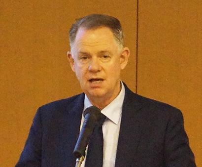 ピーター・マイヤーズデーリー・オーストラリア国際貿易開発担当マネージャー